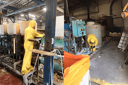 hazardous materials cleaning